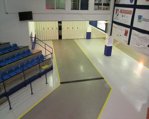 Anti Slip Seamless Epoxy Resin flooring Car Showroom Bristol South West