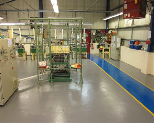 Anti Slip Seamless Polyurethane Flooring Bishop Auckland County Durham