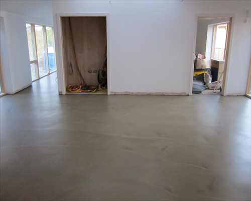 Seamless Poured Concrete Flooring Domestic Bedfordshire