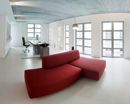 Seamless Poured Resin Flooring Private Open Plan Office Installation London