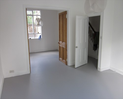 Seamless Poured Rubber Flooring Domestic Installation London