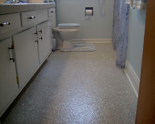 Seamless Resin Flooring Polyaspartic Flake System Residential Installation Newcastle