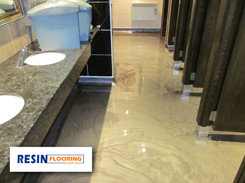 Epoxy flooring poured epoxy flooring cost for Poured concrete basement cost