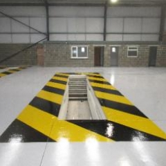 Garage Floor Coatings Middlesbrough North East England