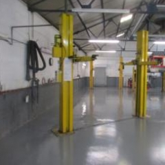 Commercial Garage Floor Painting Selby North Yorkshire